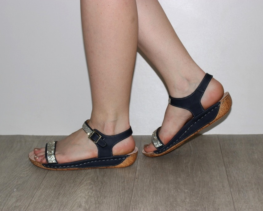 Босоножки женские 7-86200 NAWY из польши, распродажа летней обуви, летняя обувь, обувь дропшиппинг 3