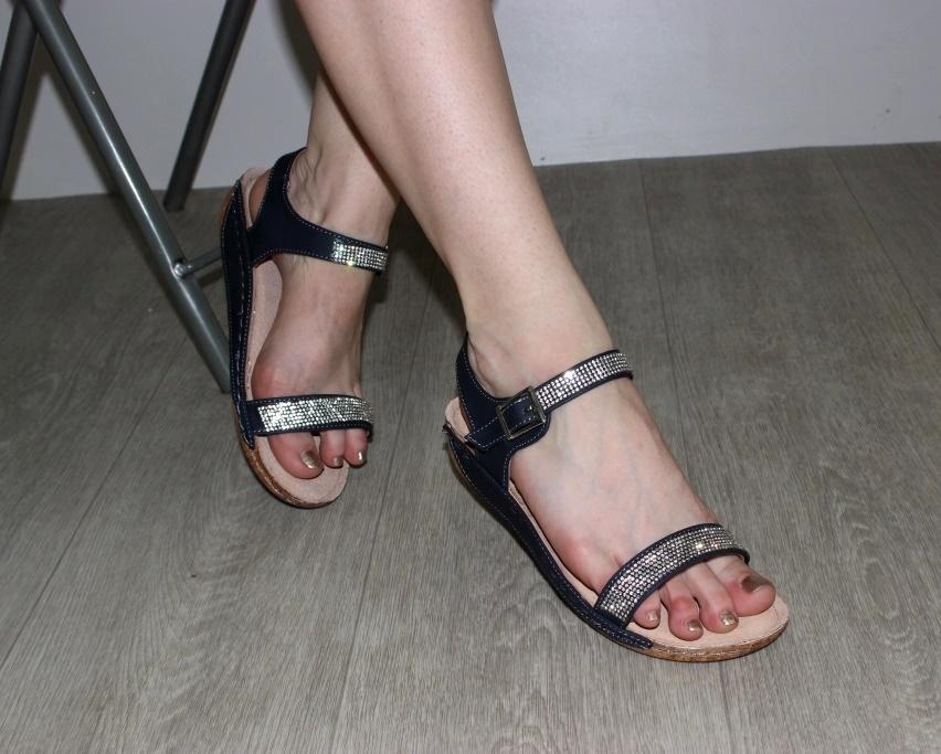 Босоножки женские 7-86200 NAWY из польши, распродажа летней обуви, летняя обувь, обувь дропшиппинг 4