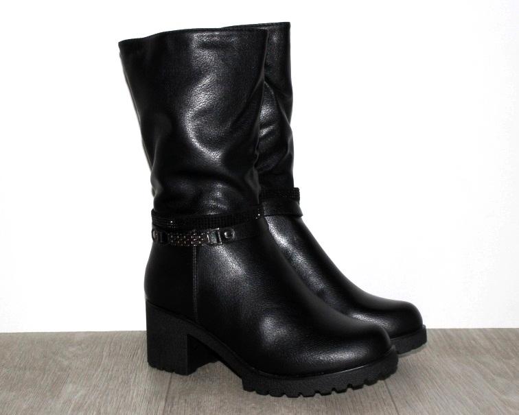 Женская зимняя обувь Киев, новые модели, доступные цены, зимние полусапоги недорого купить Украина