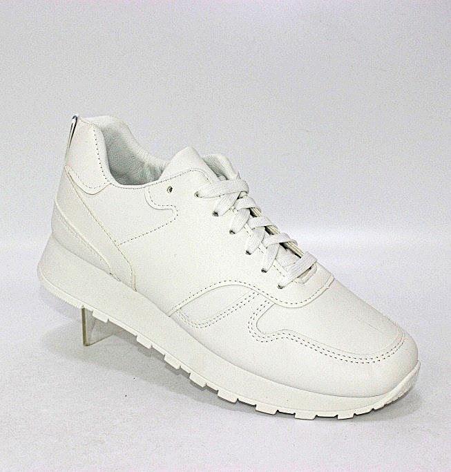 Белые кроссовки на шнурках в Киеве - купить в интернет магазине