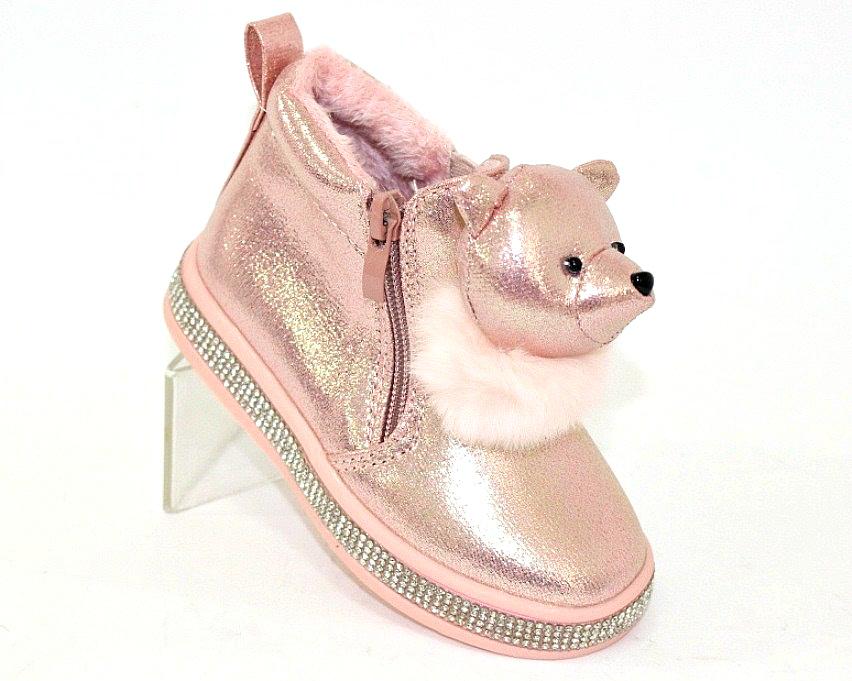 Купить сникерсы Киев, детские ботинки с мордочками Украина 1