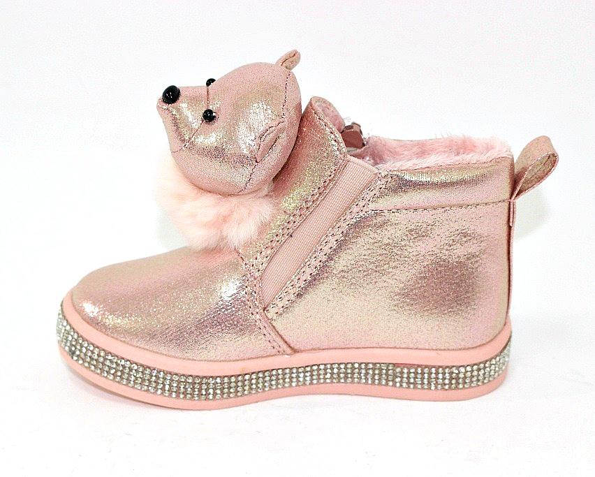 Купить сникерсы Киев, детские ботинки с мордочками Украина 5