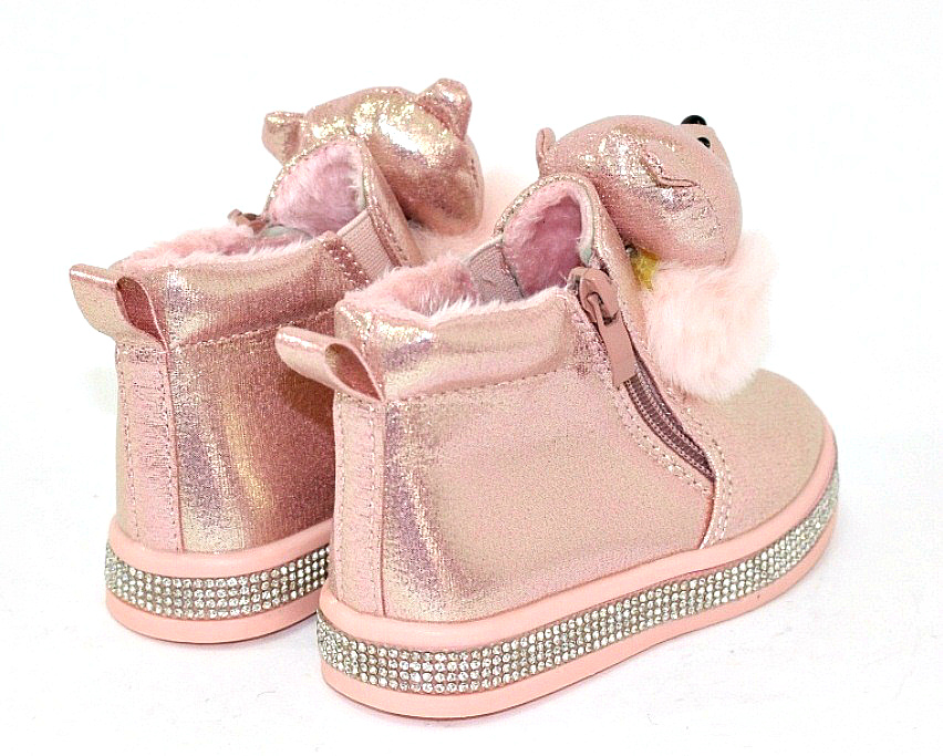 Купить сникерсы Киев, детские ботинки с мордочками Украина 4