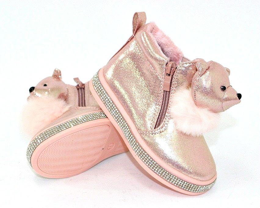 Купить сникерсы Киев, детские ботинки с мордочками Украина 6