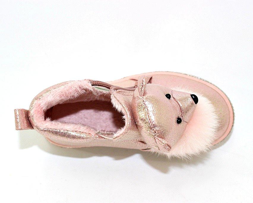 Купить сникерсы Киев, детские ботинки с мордочками Украина 8