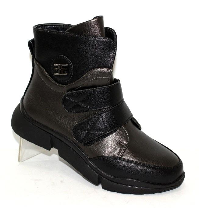 Осінні черевики на липучках для дівчаток