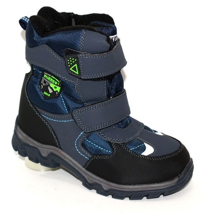 Зимові дитячі термо чоботи для хлопчиків