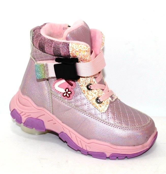 Лёгкие нескользкие ботинки зимние для девочек