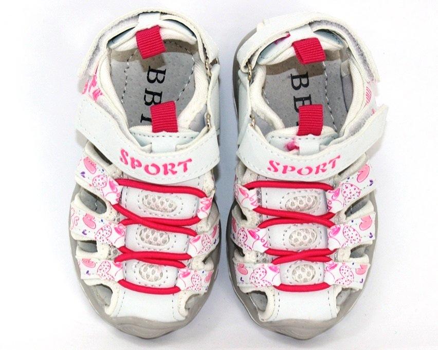 Детские спортивные босоножки для девочек купить в Киеве, купить недорогие детские босоножки 4