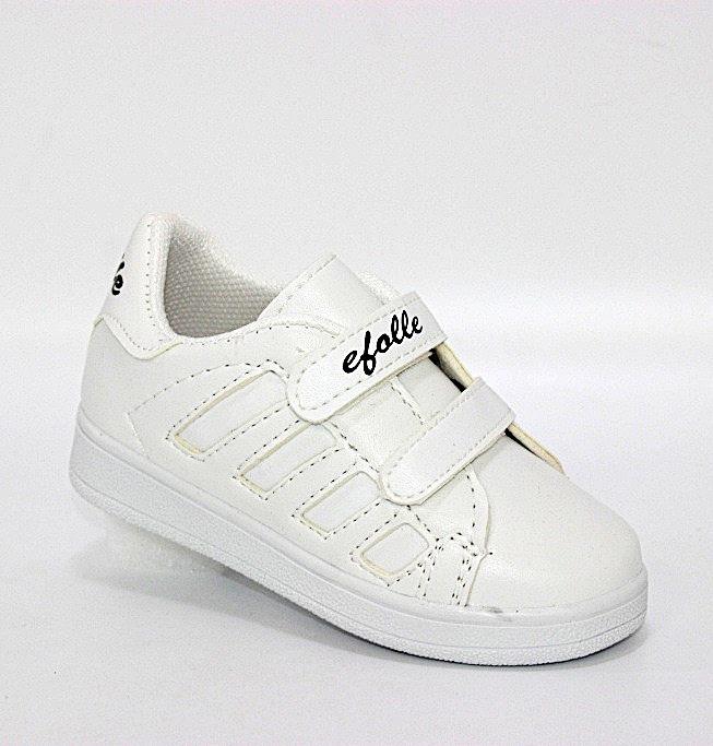 Купить Белые детские кроссовки на двух липучках в Киеве и Украине спортивная обувь кроссовки кеды киев