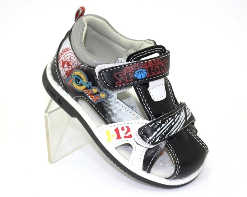 купити дитячі сандалі в Києві, Луганську, дитячі босоніжки, сандалі для хлопчика