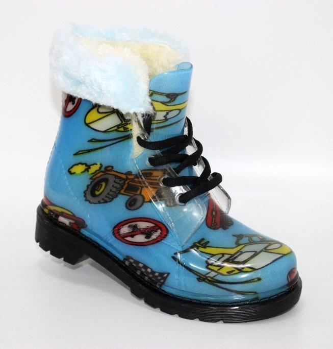 Купить резиновые детские сапоги DUAL. Обувь для мальчиков - Туфелек