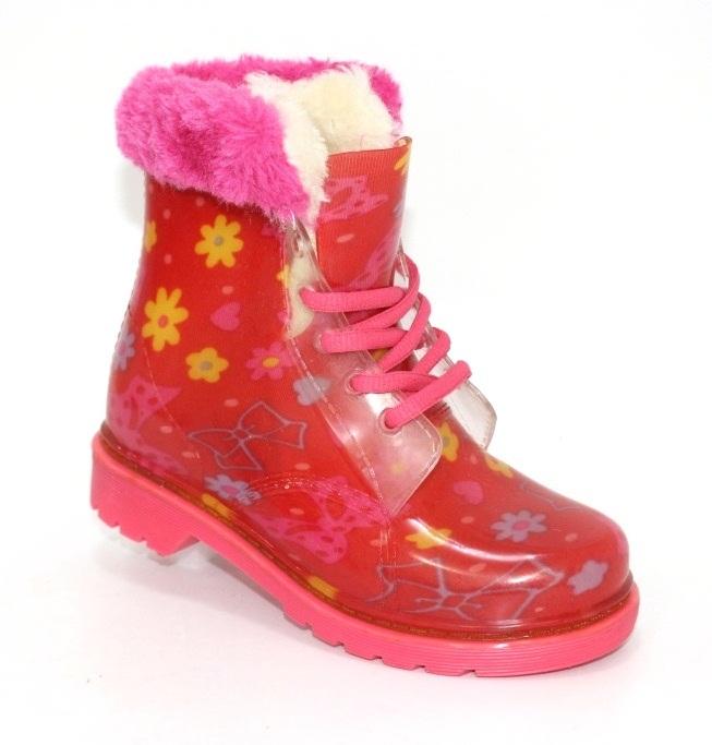Купить детские резиновые сапоги для девочек DUAL. Обувь  для девочек - Туфелек