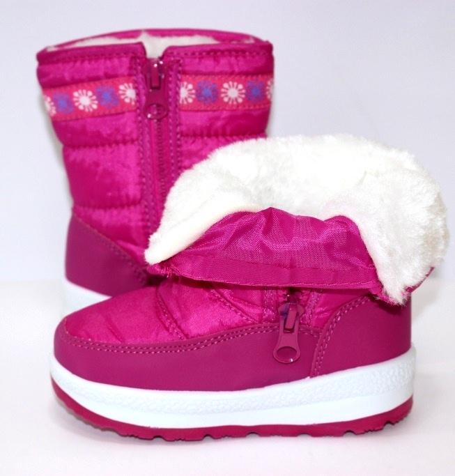 Тёплые сапожки для девочки Киев, зимняя детская обувь Украина, купить зимние сапоги 5