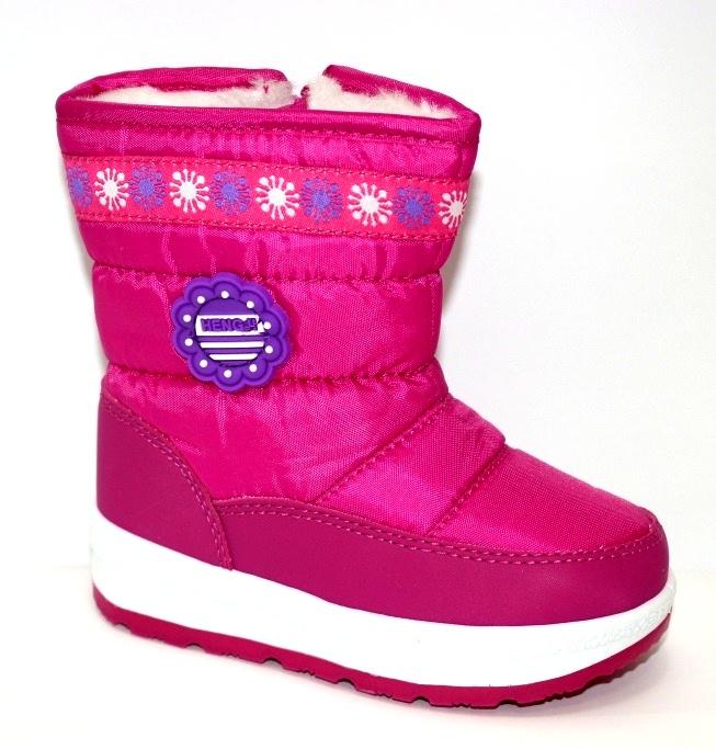 Тёплые сапожки для девочки Киев, зимняя детская обувь Украина, купить зимние сапоги 1