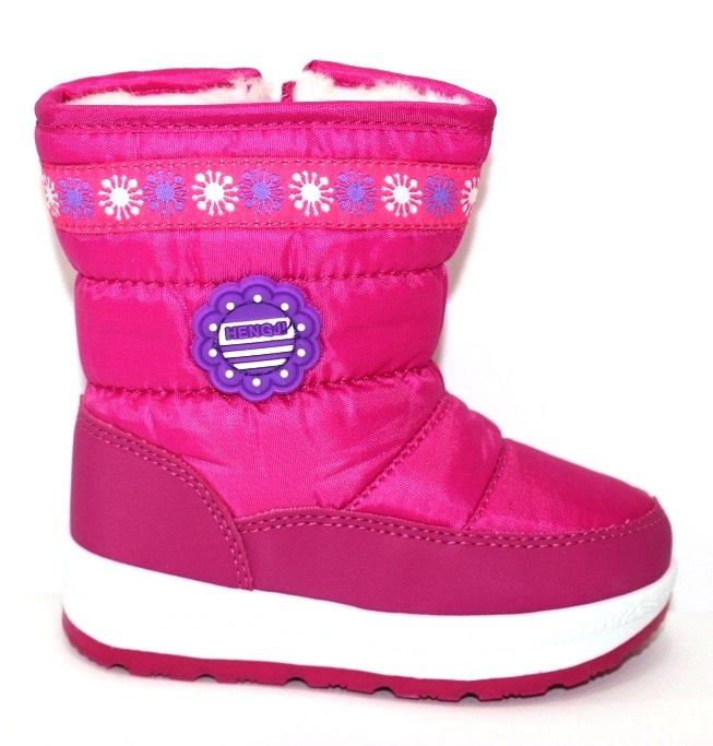 Тёплые сапожки для девочки Киев, зимняя детская обувь Украина, купить зимние сапоги 2