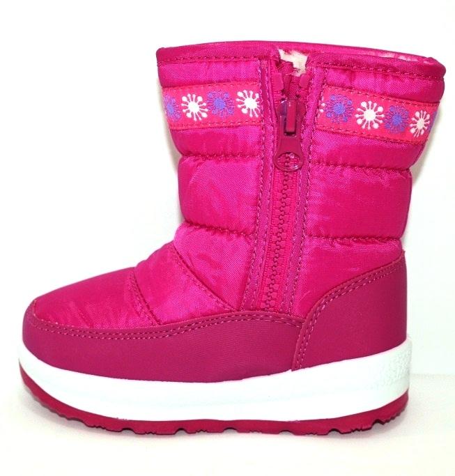 Тёплые сапожки для девочки Киев, зимняя детская обувь Украина, купить зимние сапоги 3