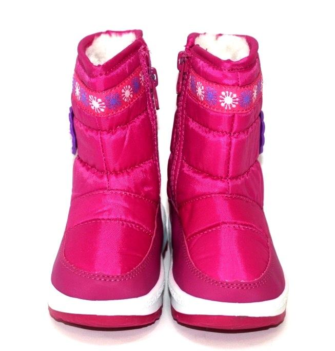 Тёплые сапожки для девочки Киев, зимняя детская обувь Украина, купить зимние сапоги 4