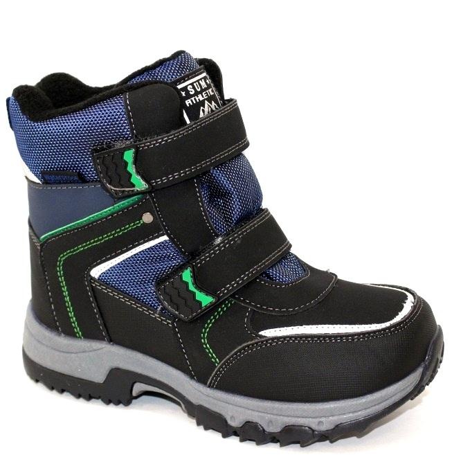 Мальчуковые зимние термо ботинки размеры 33 34 35 36 37 38