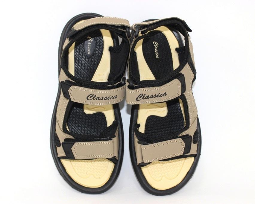 Мужские коричневые босоножки недорого в Киеве, купить сандали для мужчин, мужские сандалии Украина 6