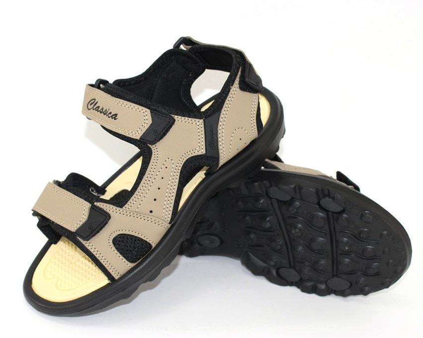 Мужские коричневые босоножки недорого в Киеве, купить сандали для мужчин, мужские сандалии Украина 8