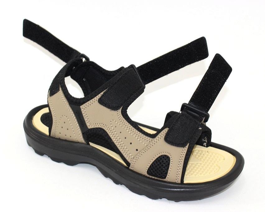 Мужские коричневые босоножки недорого в Киеве, купить сандали для мужчин, мужские сандалии Украина 9