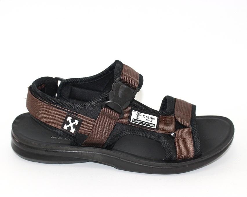 Спортивные босоножки на липучках, купить спортивные босоножки в Киеве недорого, летняя мужская обувь 6