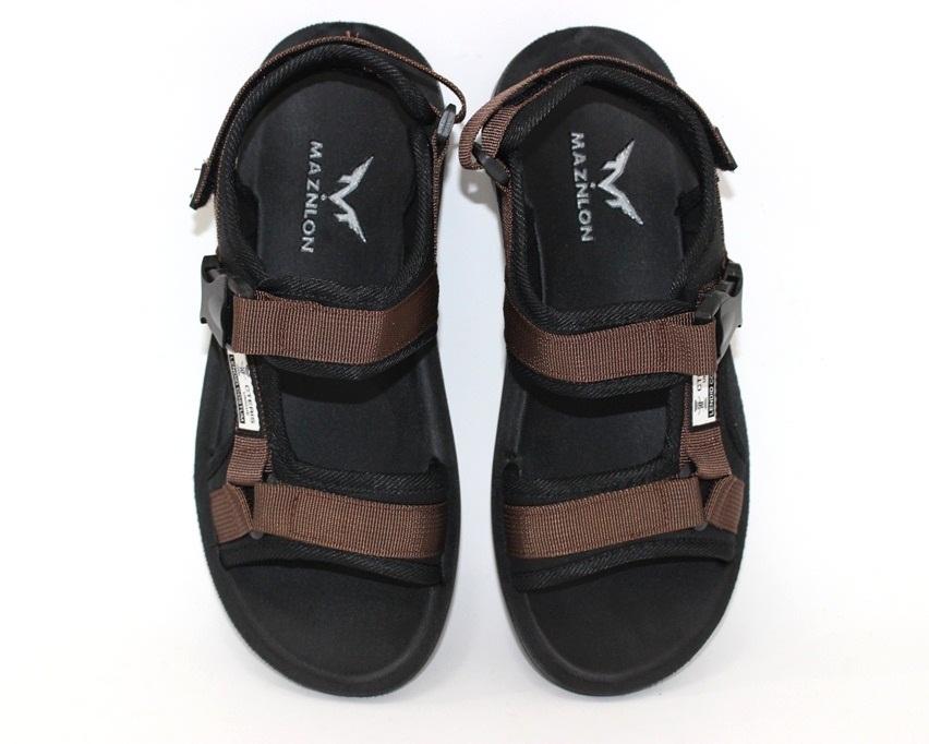 Спортивные босоножки на липучках, купить спортивные босоножки в Киеве недорого, летняя мужская обувь 7
