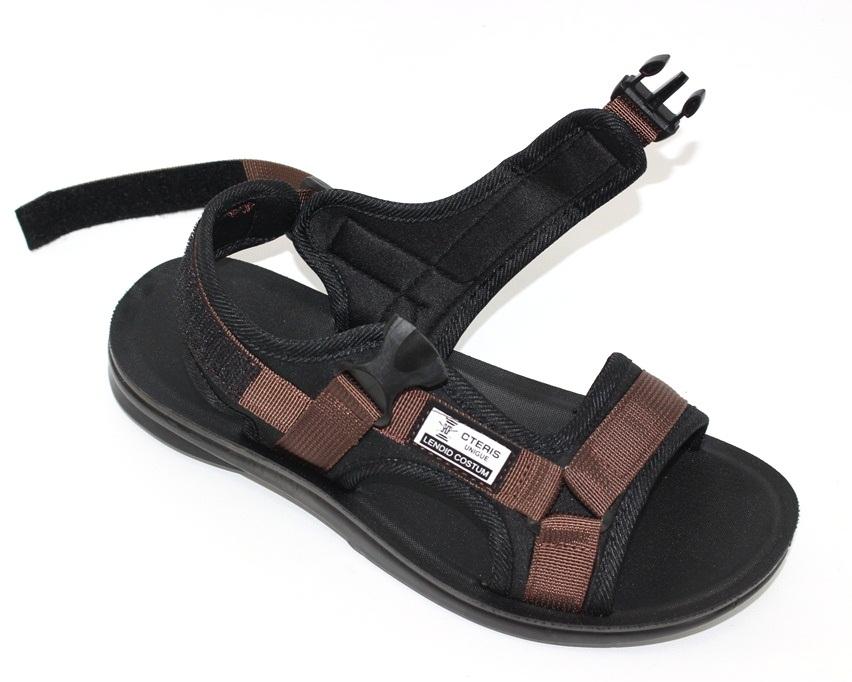 Спортивные босоножки на липучках, купить спортивные босоножки в Киеве недорого, летняя мужская обувь 10