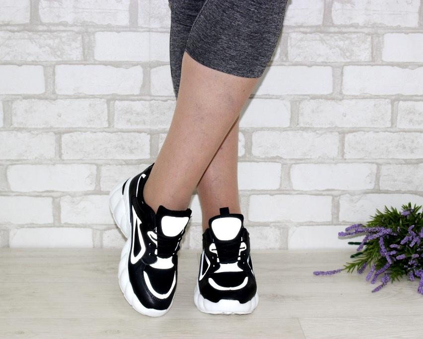 Стильные кроссовки на толстой подошве A33-4 в Киеве - купить в интернет магазине 3