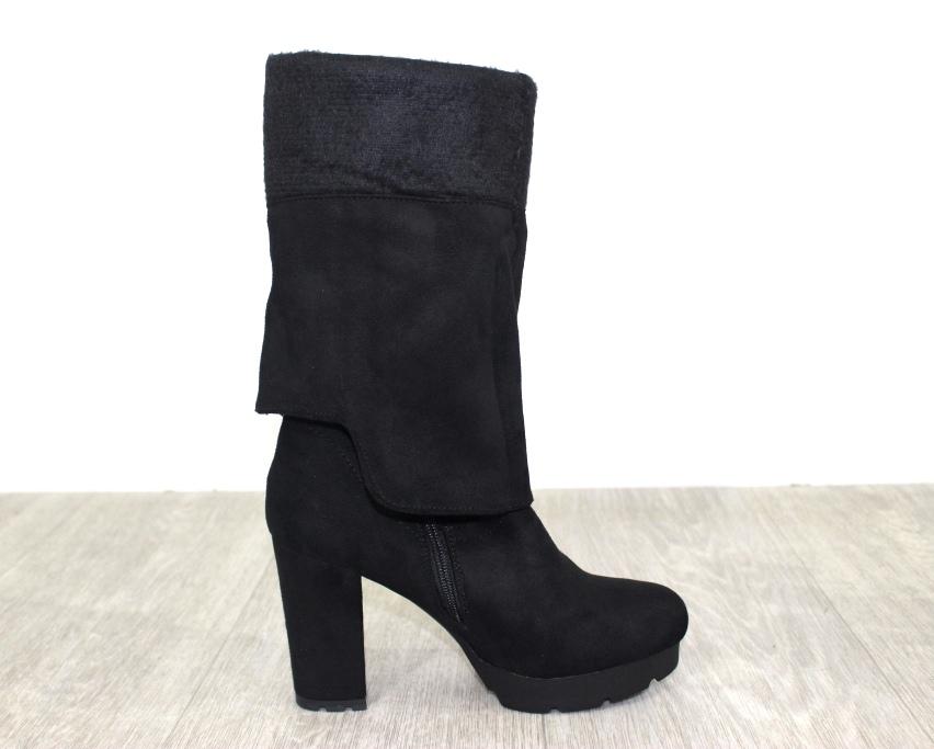 Женская обувь в розницу, высокие сапоги на каблуке 9