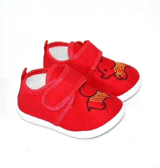 Детские красные пинетки для мальчиков и девочек