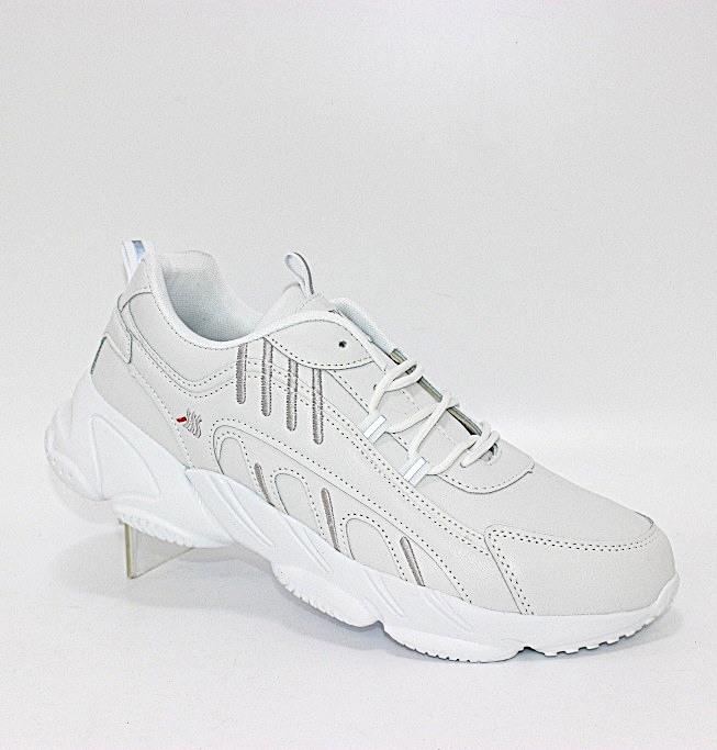 Белые кроссовки для мужчин на подошве из пены ЭВА на осень