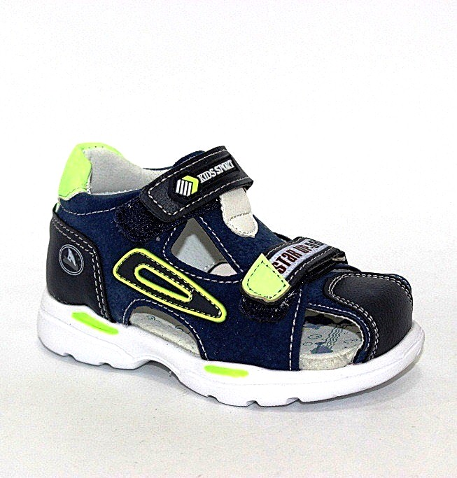 Закрытые детские сандалии для мальчика