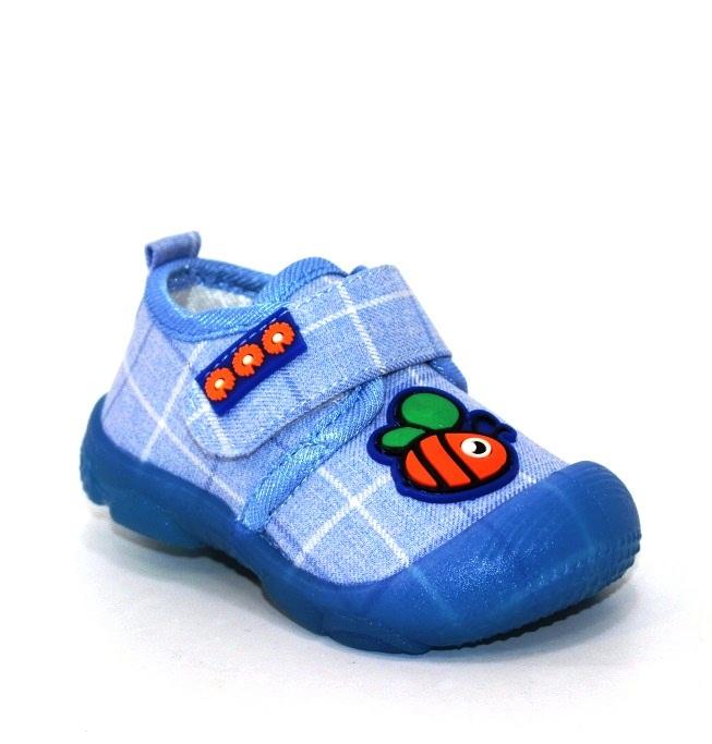 Купить 18-26 ясельная Super Gear -Венгрия A806-blue. Обувь для мальчиков - Туфелек