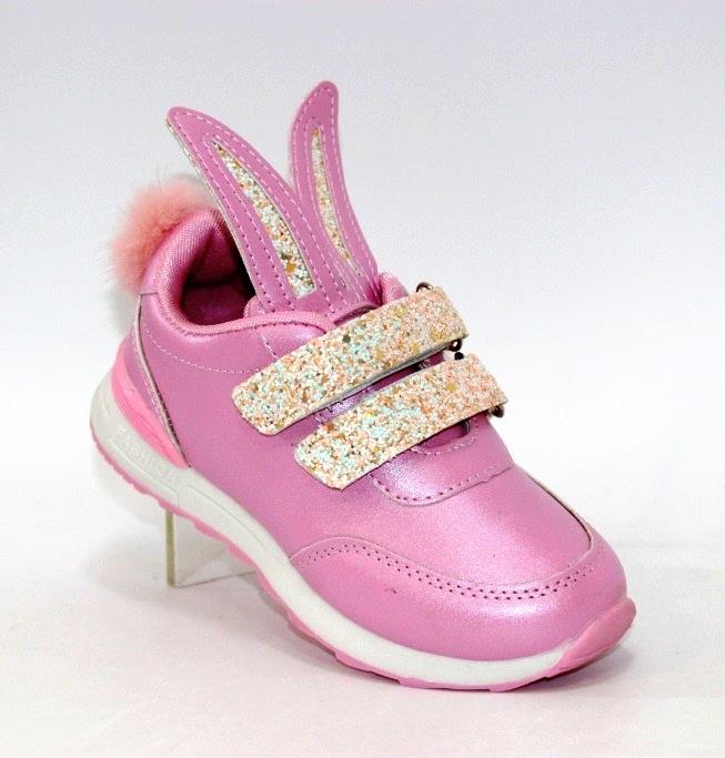Купить розовые детские кроссовки с ушками H1658-3 в Киеве и Украине спортивная обувь кроссовки кеды киев