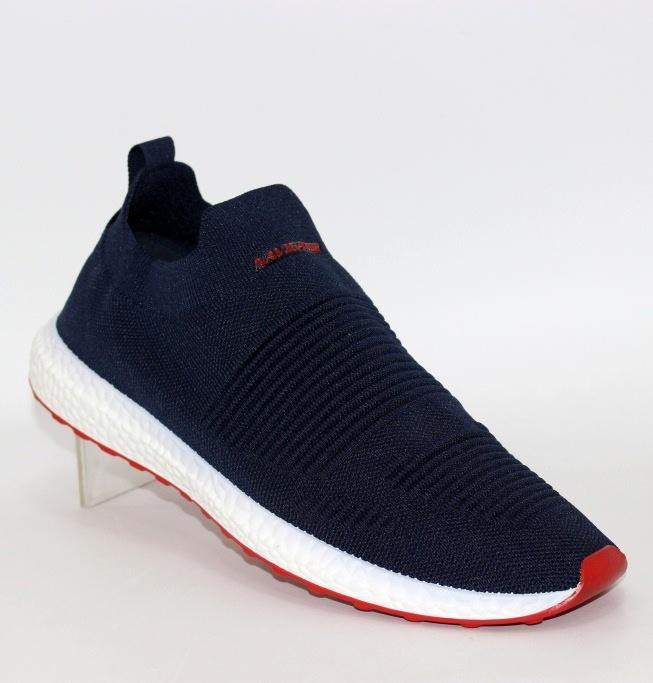 мужские трикотажные кроссовки слипоны  A20113-3 - купить в интернет магазине по доступной цене в Украине