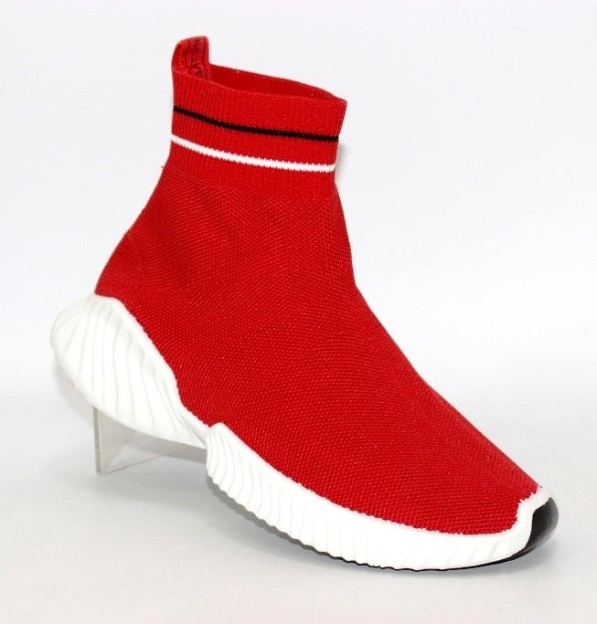 красные кроссовки носки B2905-3 в Киеве - купить в интернет магазине