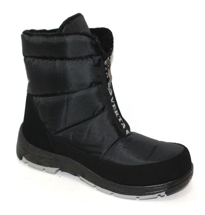 Спортивные зимние дутые ботинки для мужчин
