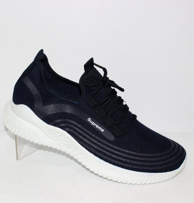 Сині чоловічі літні кросівки відмінної якості