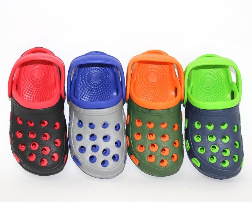 Летняя обувь для мальчиков, модные кроксы в ассортименте для ваших деток 5