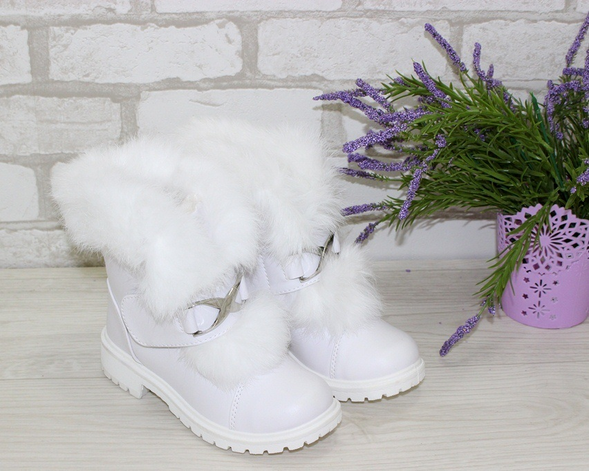Купить зимние ботинки для девочки, детская зимняя обувь Украина, ботинки для девочки Киев 2