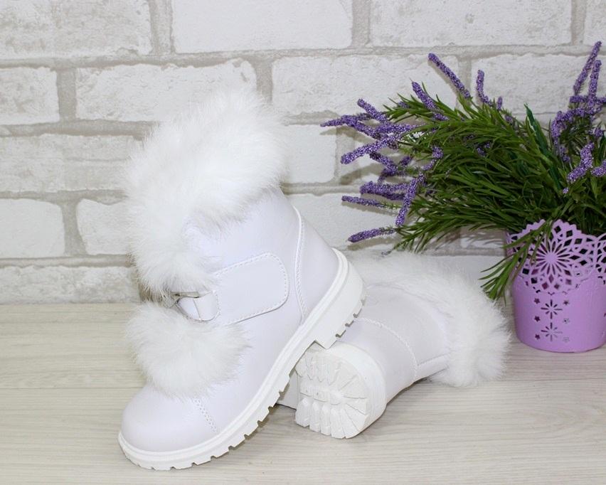 Купить зимние ботинки для девочки, детская зимняя обувь Украина, ботинки для девочки Киев 3