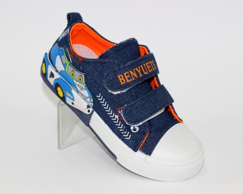 Купить 23-32 садик Солнце WL8208H. Обувь для мальчиков - Туфелек 1