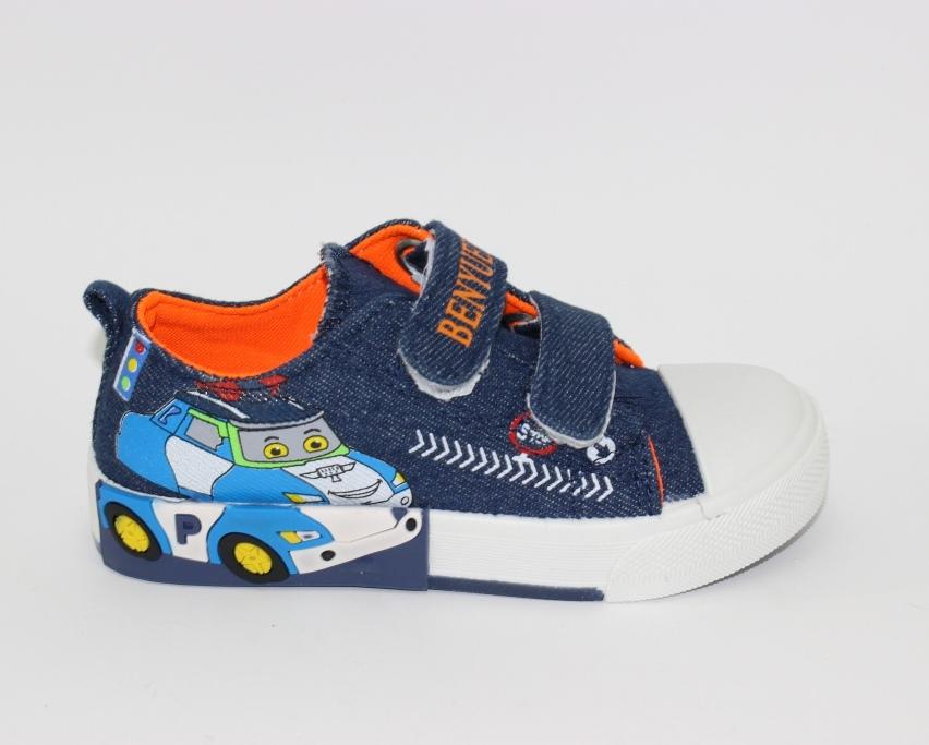Купить 23-32 садик Солнце WL8208H. Обувь для мальчиков - Туфелек 5