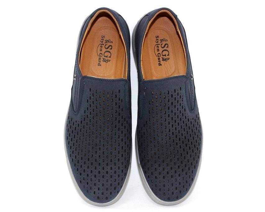 Купить мужские летние туфли в Киеве,  летние мужские мокасины в розницу 7