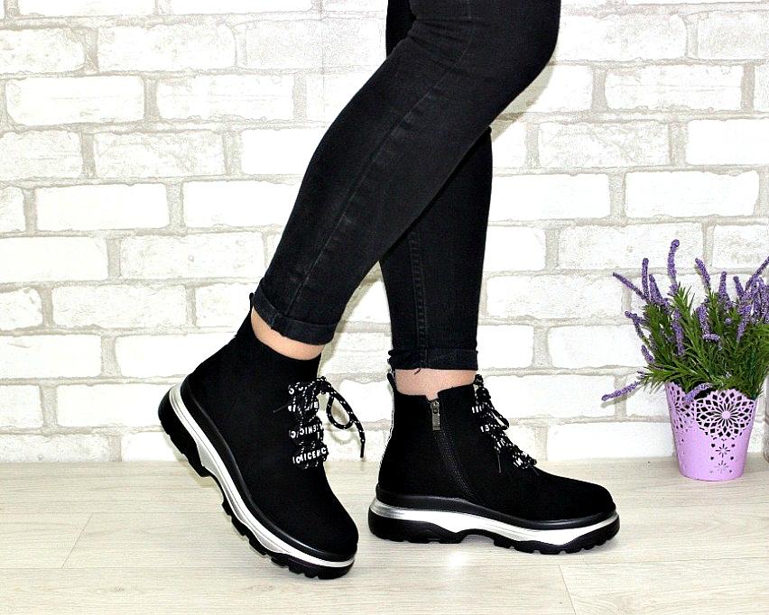 Молодёжные демисезонные полусапожки купить в Киеве, женская демисезонная обувь Украина 2