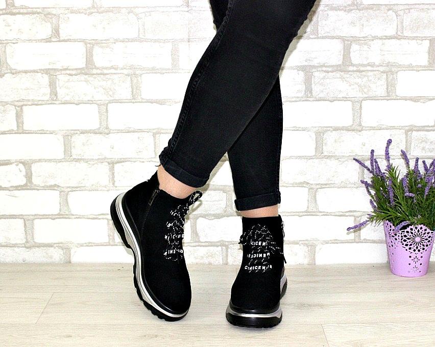 Молодёжные демисезонные полусапожки купить в Киеве, женская демисезонная обувь Украина 3