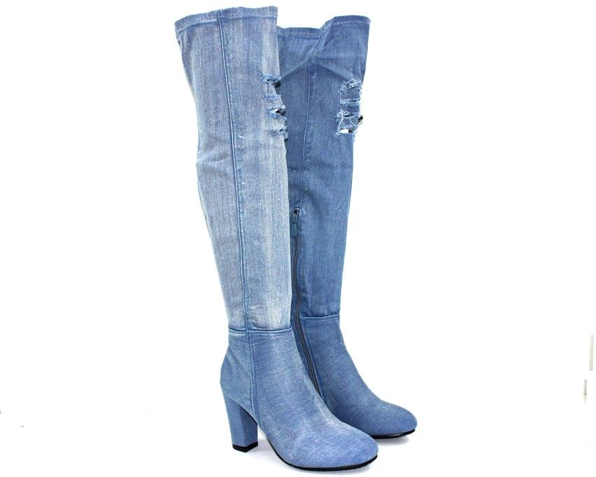 Купить женскую обувь в Киеве, сапоги женские демисезонные,джинсовые сапожки, летние сапожки