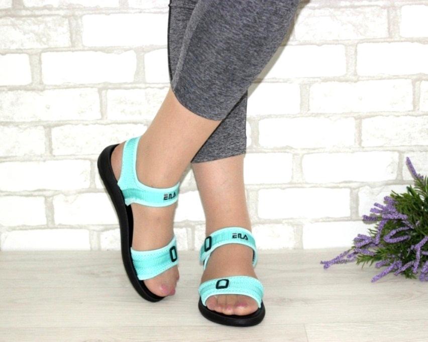 купить женские босоножки в Киеве, Украина, женские сандалии, босоножки без каблука 3